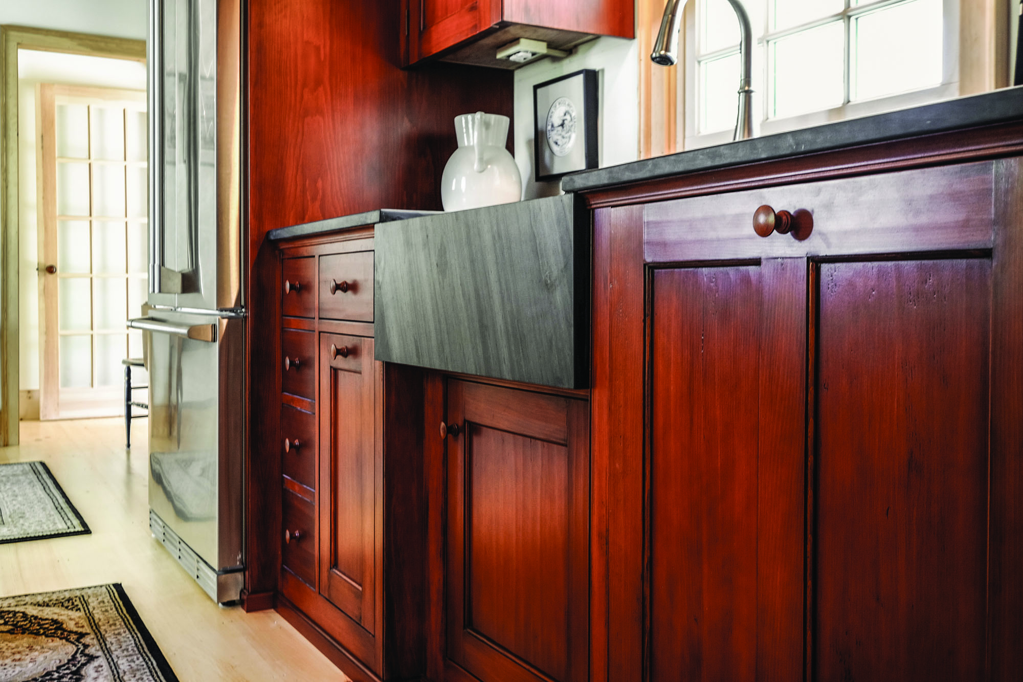 Kennebec Company's custom cabinetry.