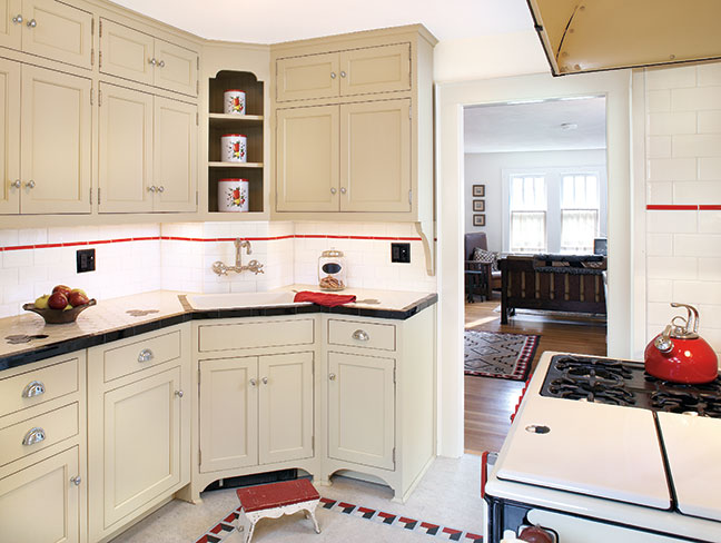 Bungalow Kitchen Black White Bungalow Kitchen Makeover Old House Restoration