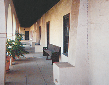 When the 1827 Dominguez Rancho Adobe in Carson, California, was expanded from kitchen quarters to a comfortable six-room house and chapel, the builders placed wood beams next to the ground, leaving them prone to undermining.