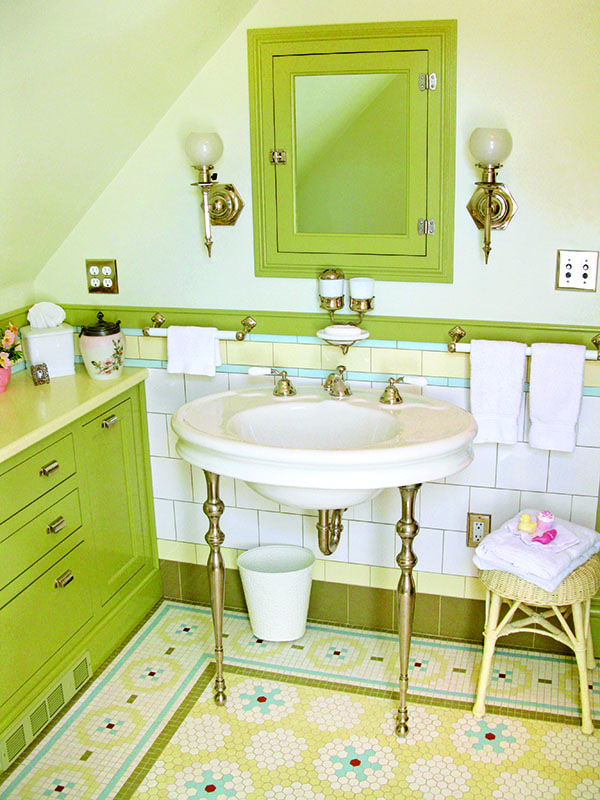 Hard Working Floors: Best Bets for Bathrooms - Restoration & Design ...