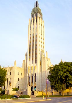 The Boston Avenue Methodist Church is one of Tulsa's most beloved Art Deco icons.