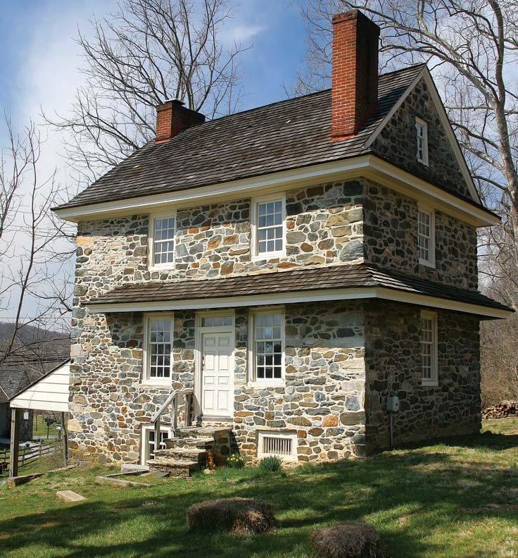 Farmhouses Of The Brandywine Valley Pennsylvania
