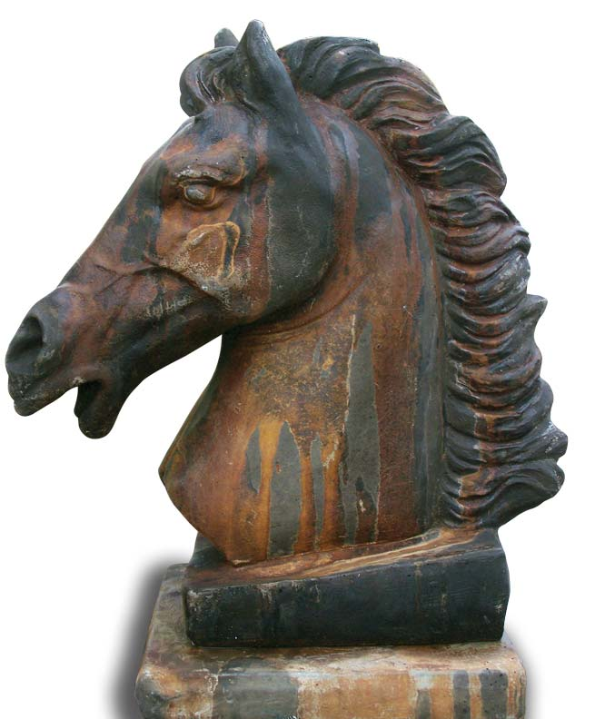 Early 20th-century bronze sculptures are just one of the many finds at the fair.