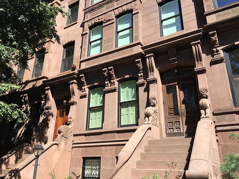 brownstones in Brooklyn