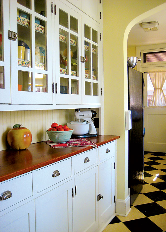 1950s Kitchen Furniture Retro Kitchen On A Budget Old House Restoration Products