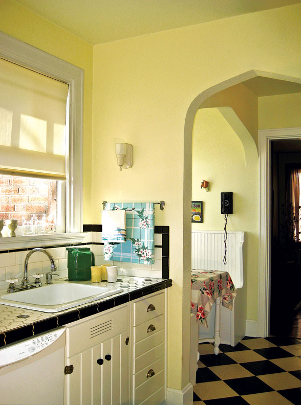 Retro Kitchen Retro Kitchen On A Budget Old House Restoration Products