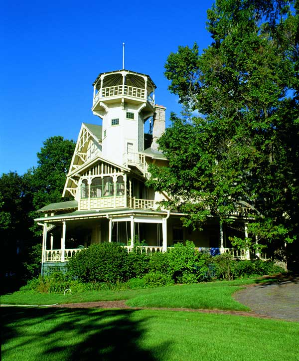 Built by beer money, Black Point is open as a house museum. Photo: Lake Geneva Visitors Bureau
