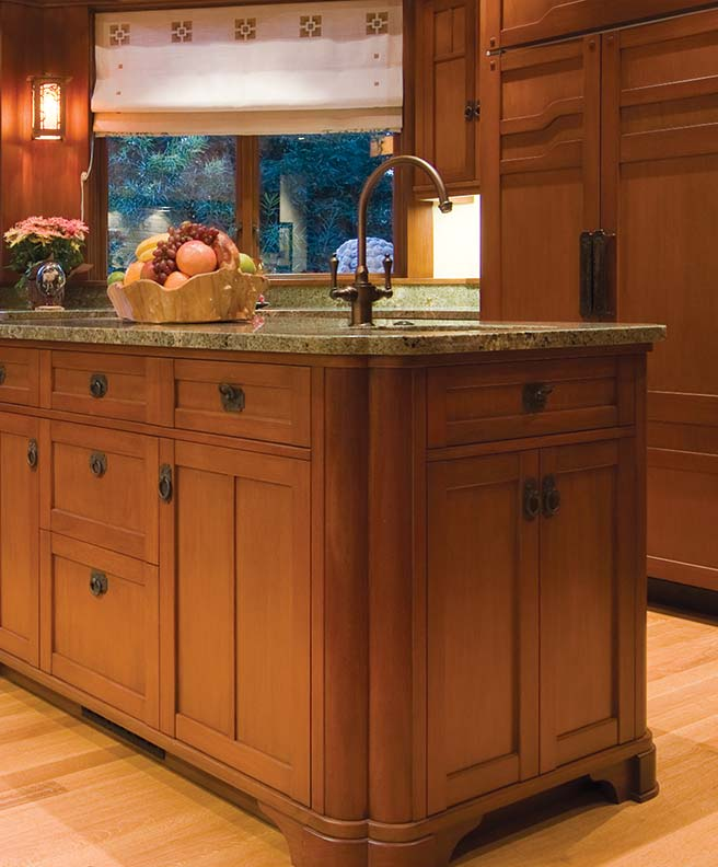 Cabinet hardware by house style old house restoration for Arts and crafts style hardware