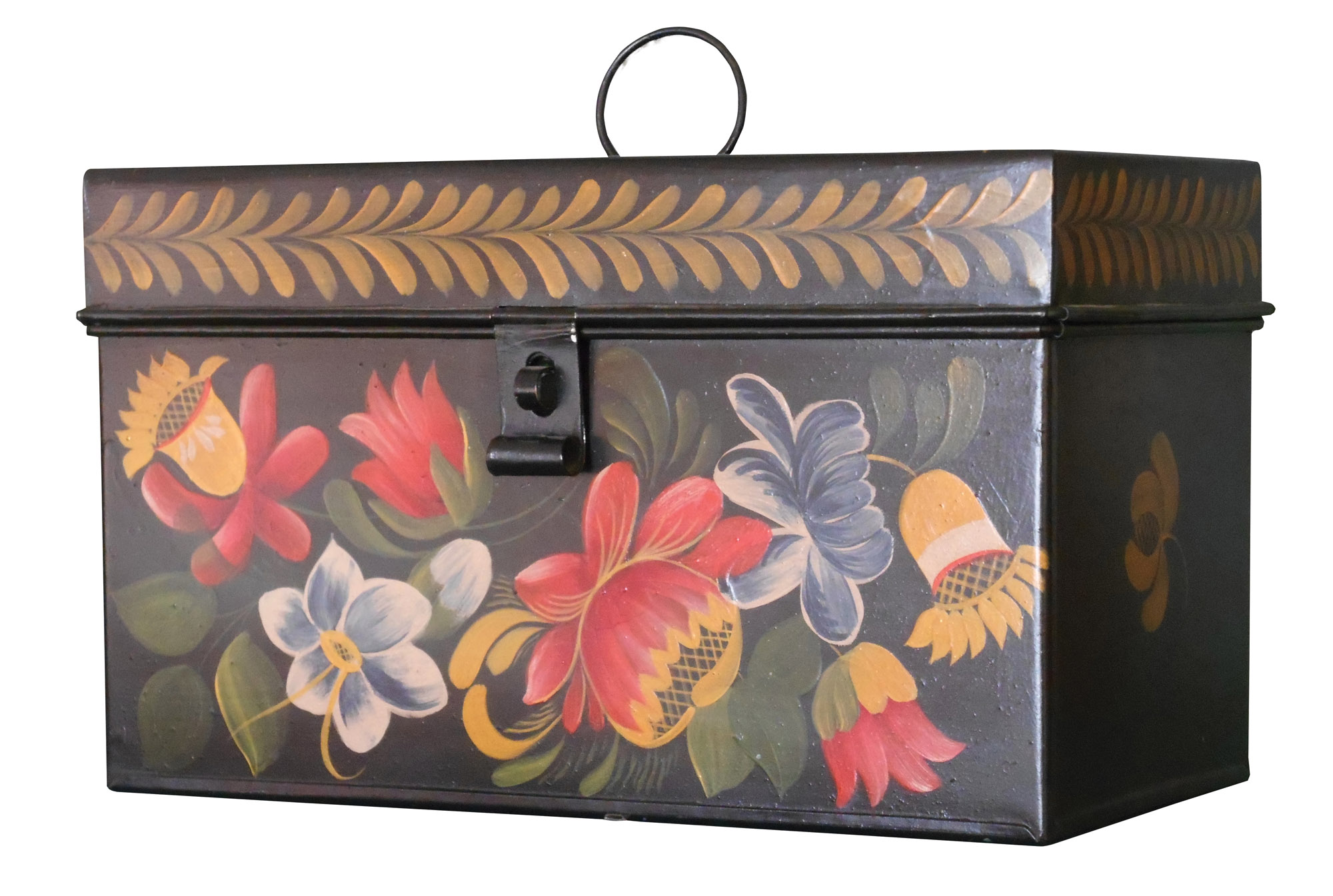 Calico Goose box