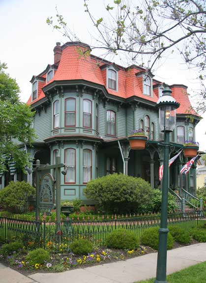 Textbook Victorians Of Cape May New Jersey Restoration