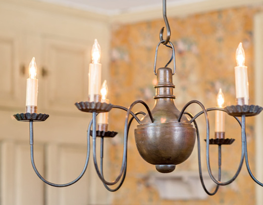 Wire Arm Chandeliers Old House Journal Magazine