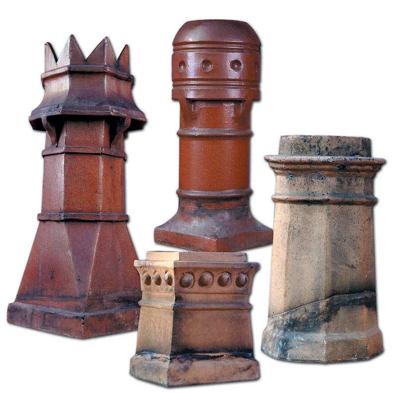 decorative chimney pots