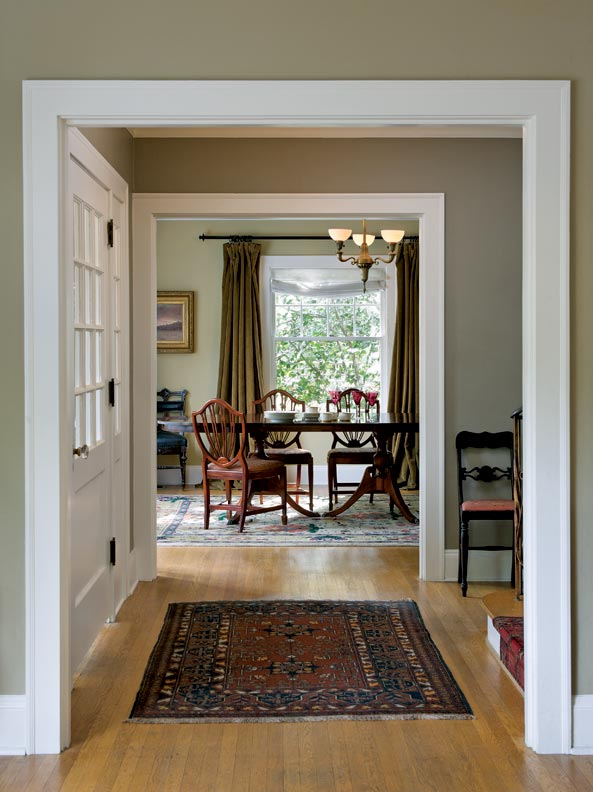 Choosing Paint Colors For A Colonial Revival Home Old House Journal Magazine