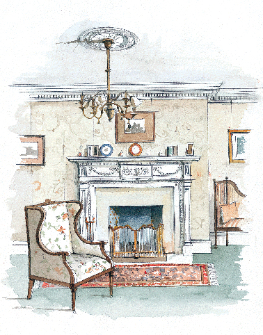 Colonial Revival Interior Design Old House Restoration