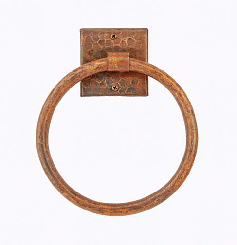 Copper bath accessories, Premier Copper Products.