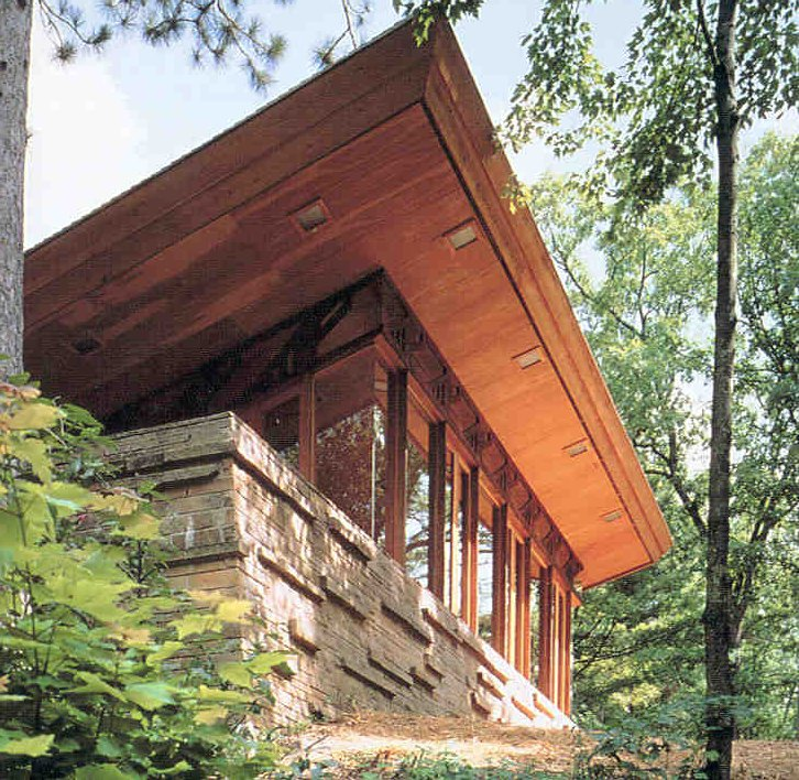 Stay in a Frank Lloyd Wright House