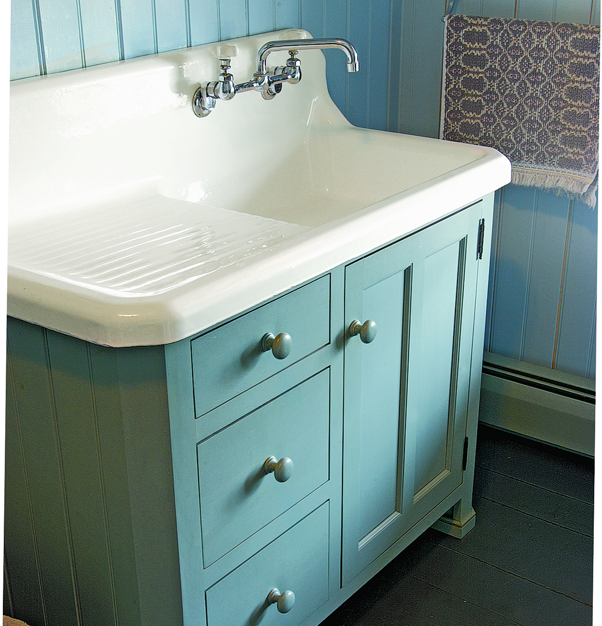 Crown-Point Cabinetry custom bath vanity