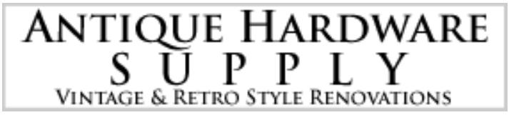Antique Hardware Supply Logo