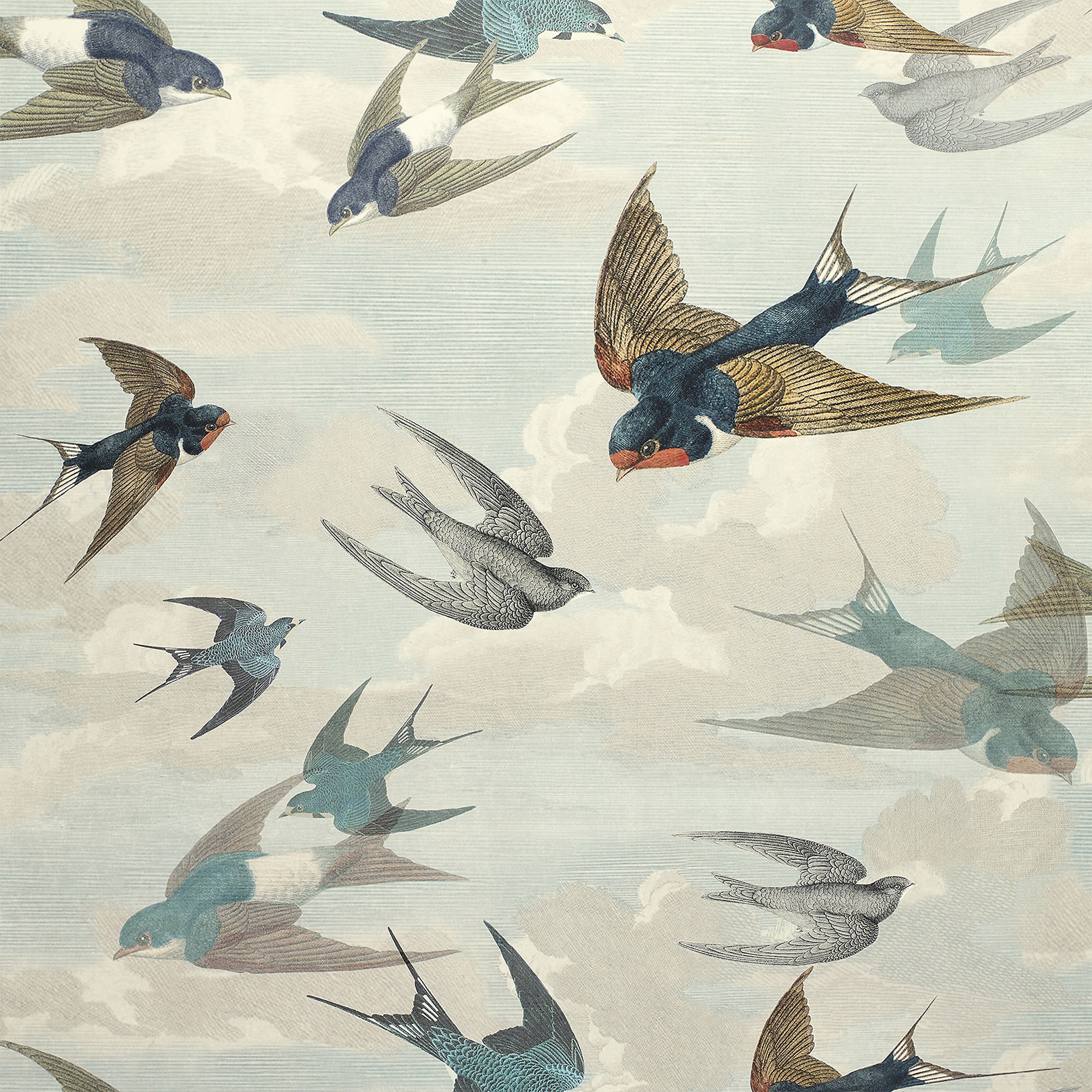 Chimney Swallows by Designers Guild