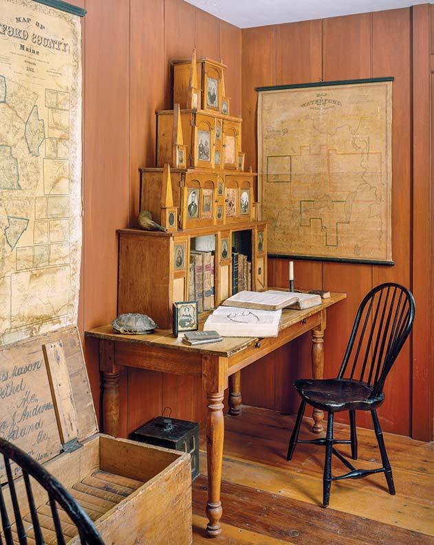 desk-history-gothic-revival-secretary