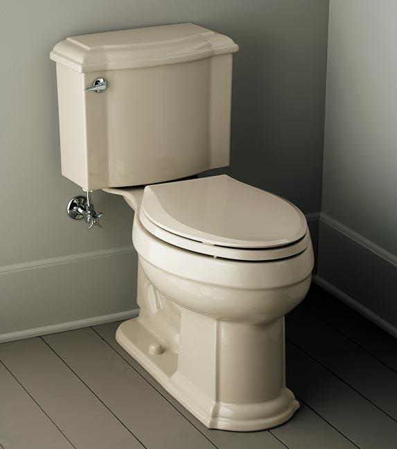 Devonshire toilet in Sandbar, Kohler.
