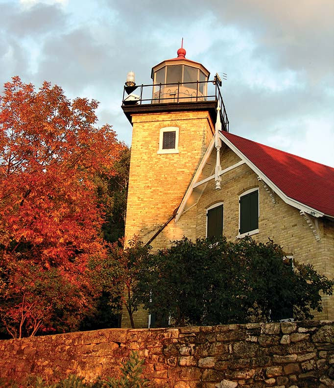 Eagle Bluff Lighthouse, Door County