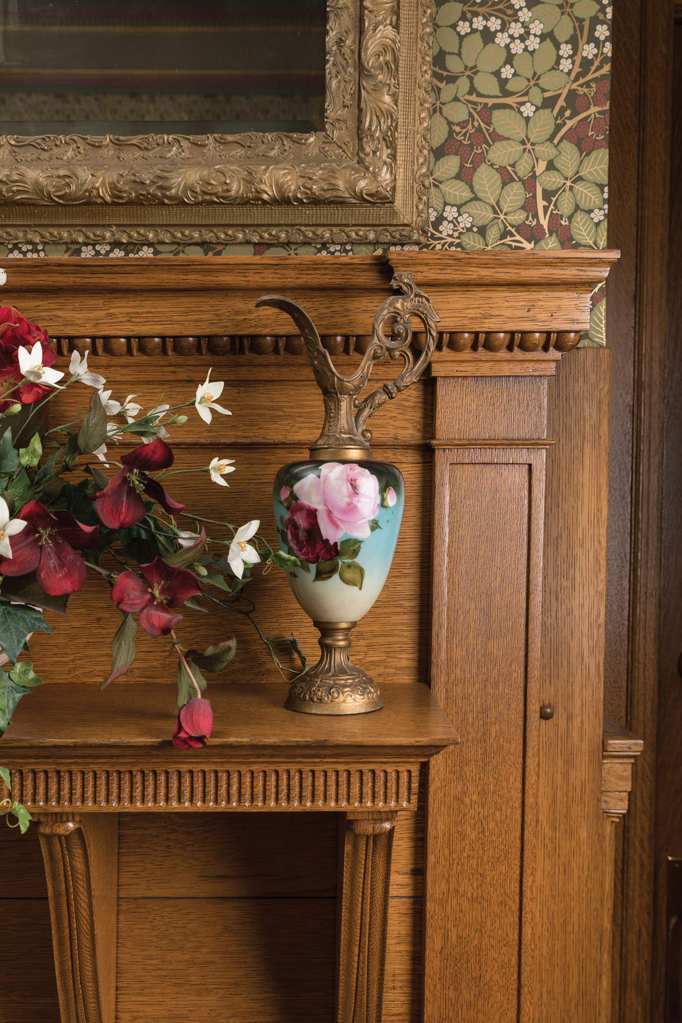 oak woodwork, Victorian woodwork