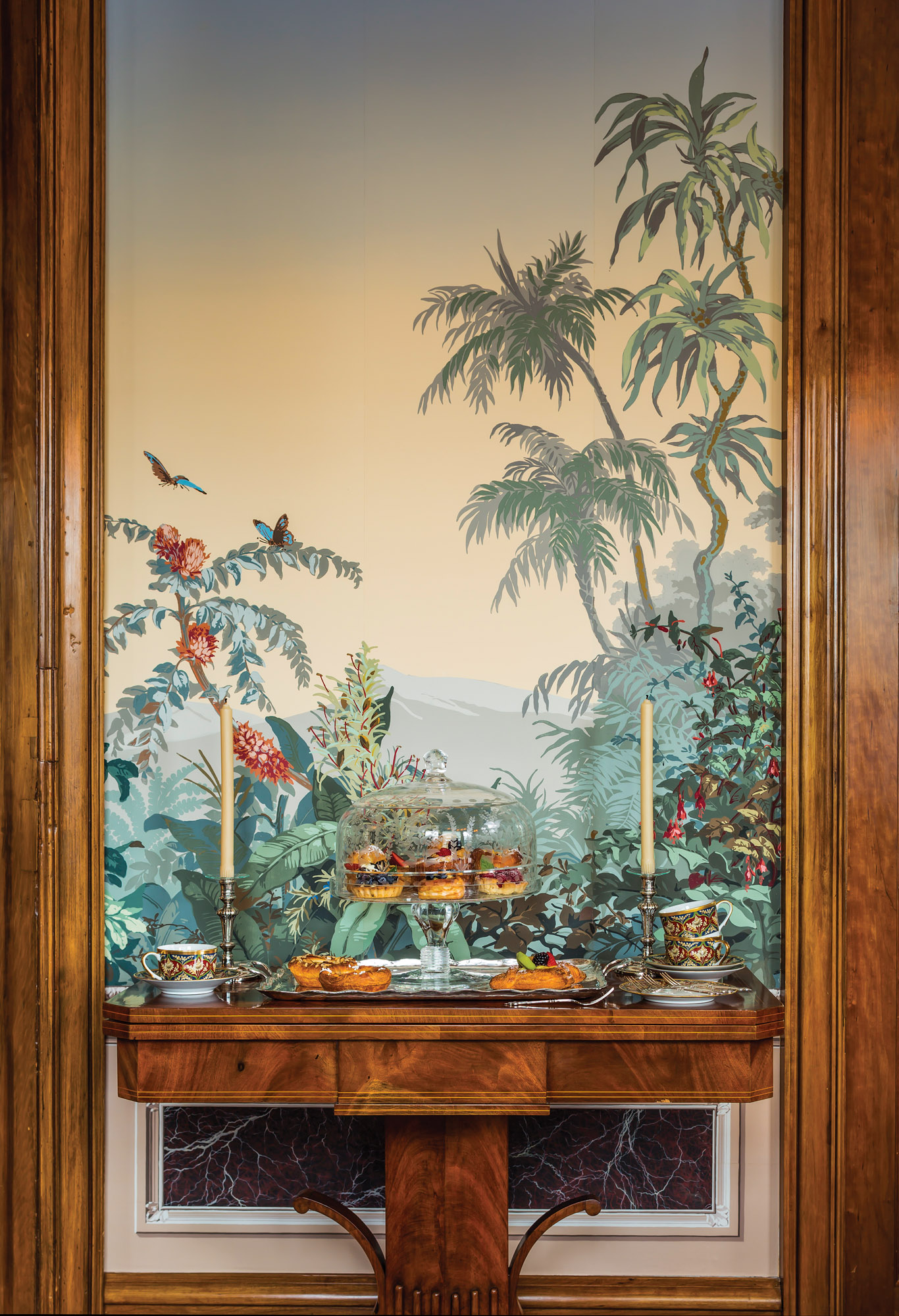exotic wallpaper mural