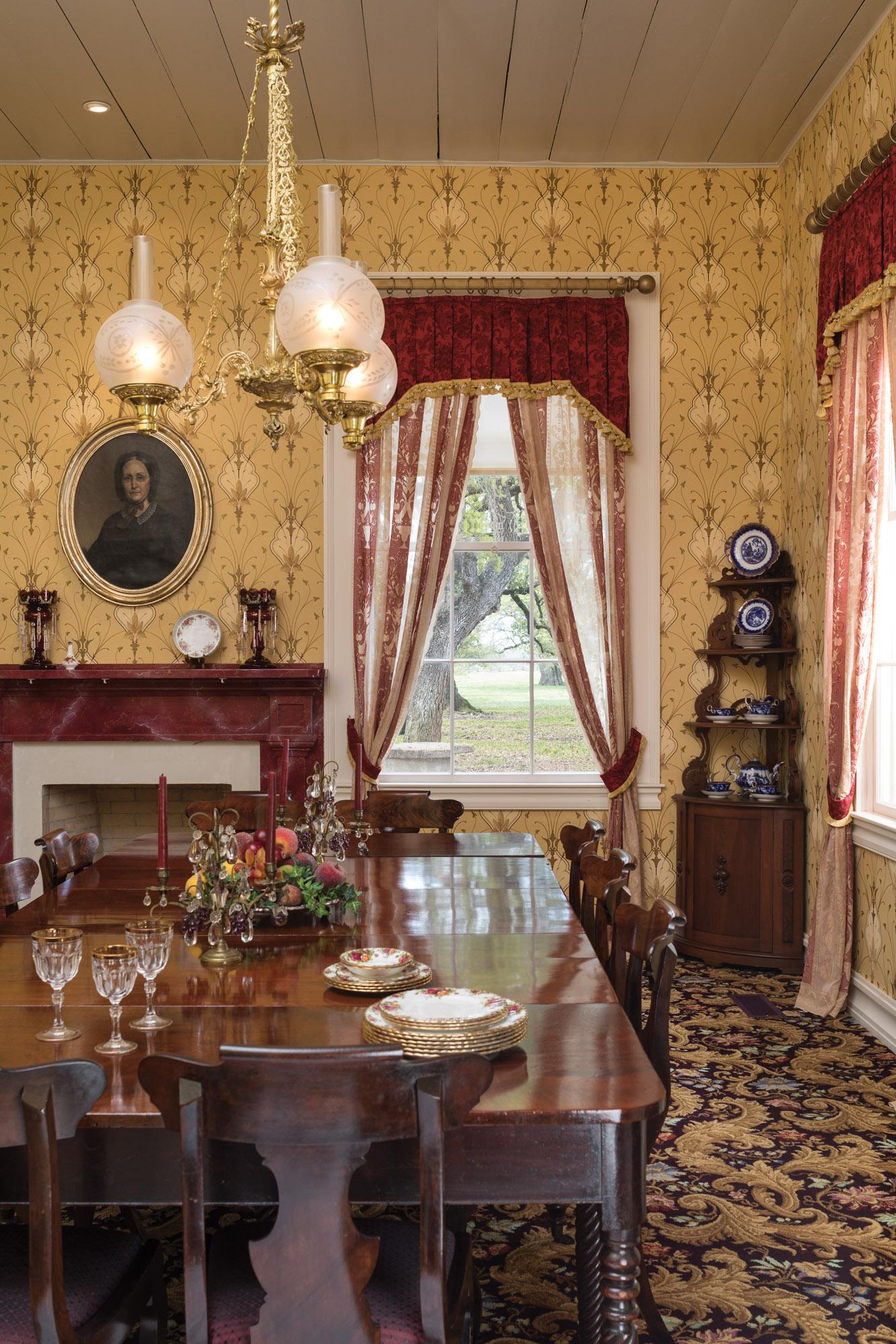 Greek Revival dining room