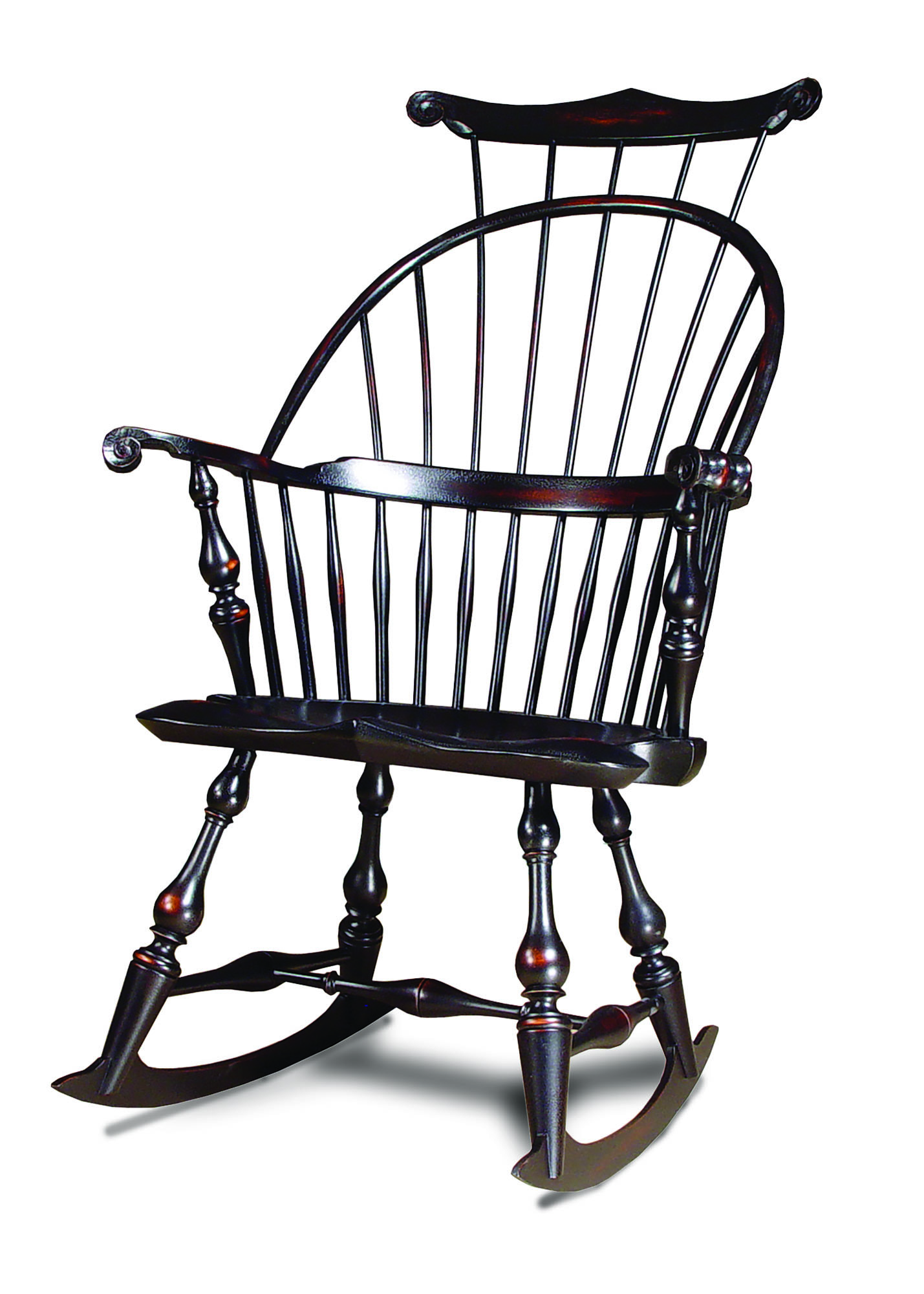 The 'Master's Rocking Chair' is based on a Windsor chair designed  years ago by D.R. Dimes himself.