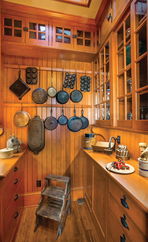 A Period-Perfect Victorian Kitchen