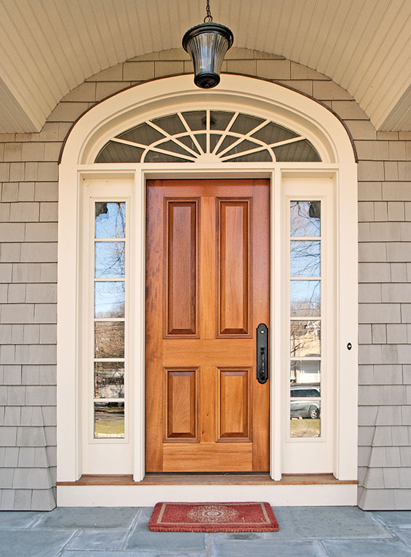 HeartWood Fine Windows and Doors custom designs period-appropriate entryways. (Photo courtesy of HeartWood Fine Windows & Doors)