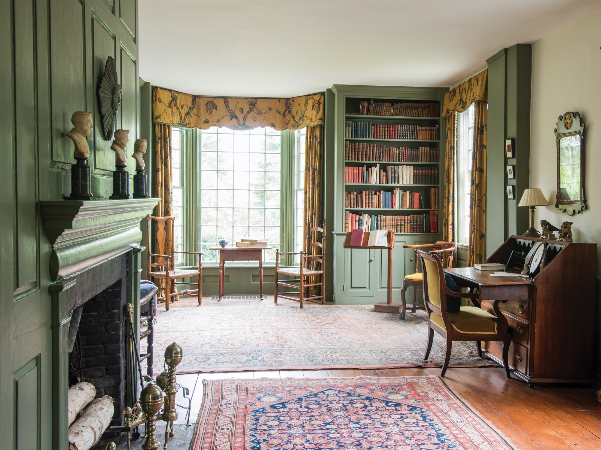 Bellamy-Ferriday house library