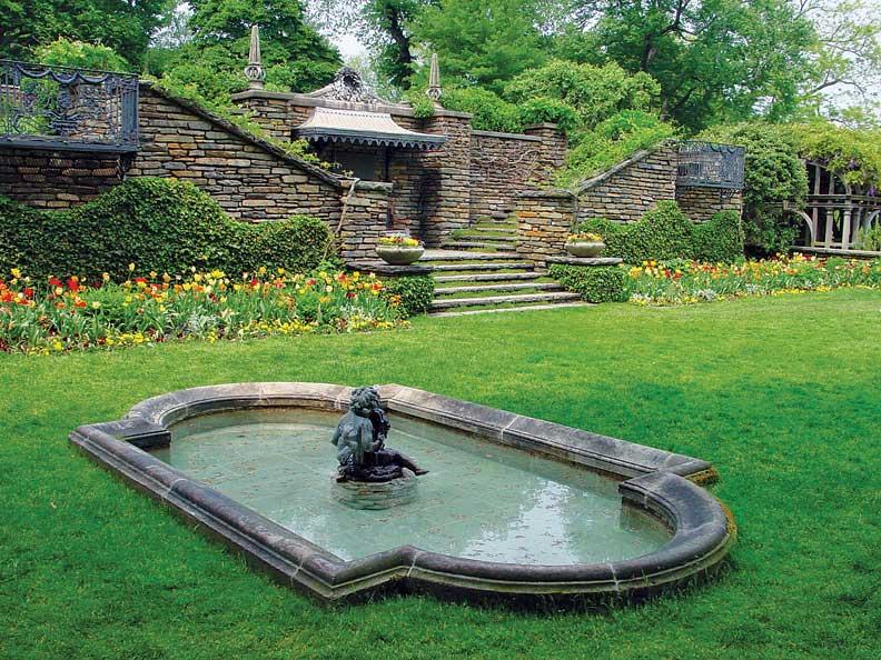 Beatrix Farrand designed the original gardens at Dumbarton Oaks.