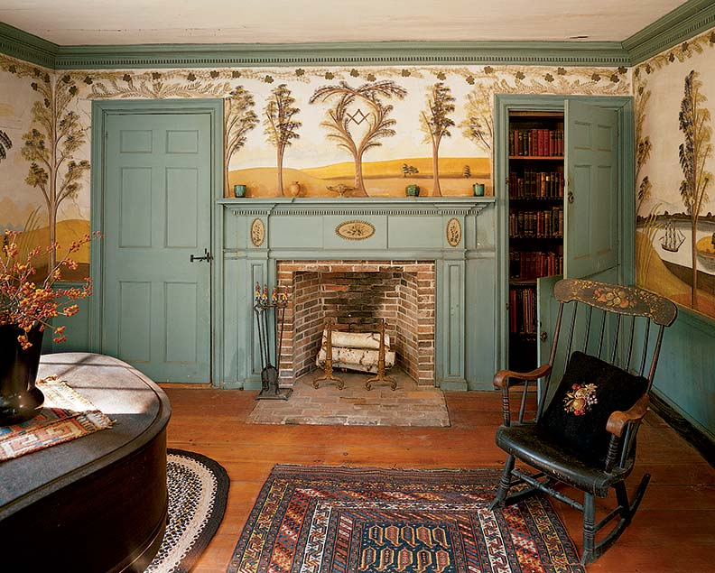 Mural & Stencil Ideas for Early Homes
