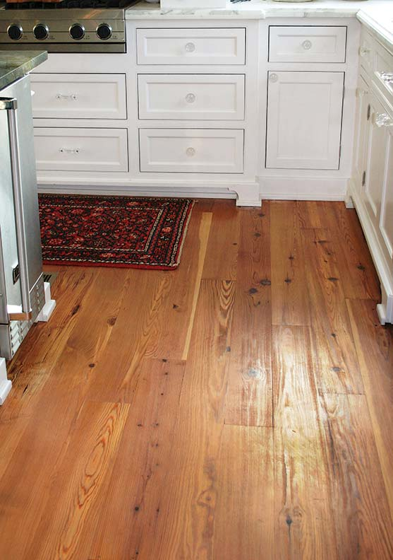Authentic wood flooring for early homes old house