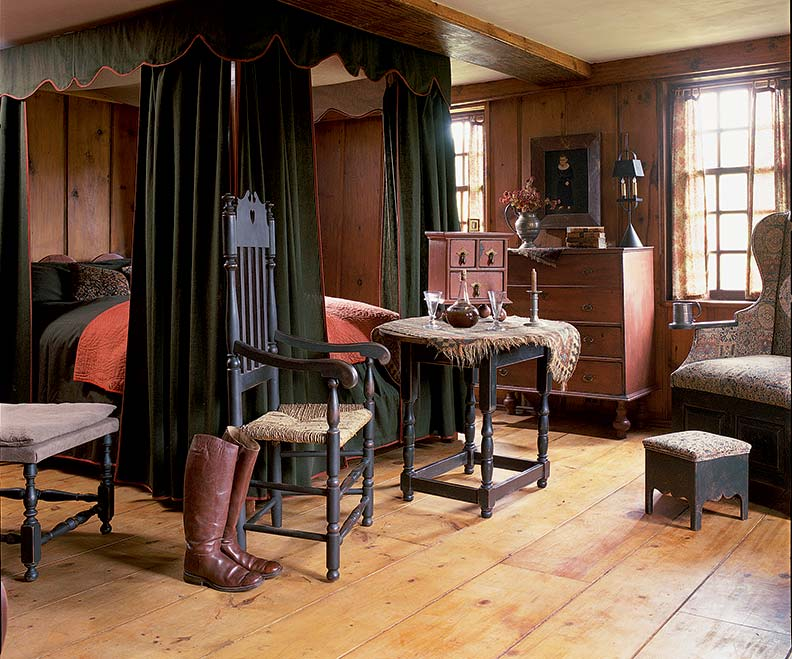 Authentic Wood Flooring For Early Homes