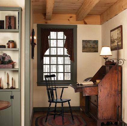 Early New England Homes, writing nook