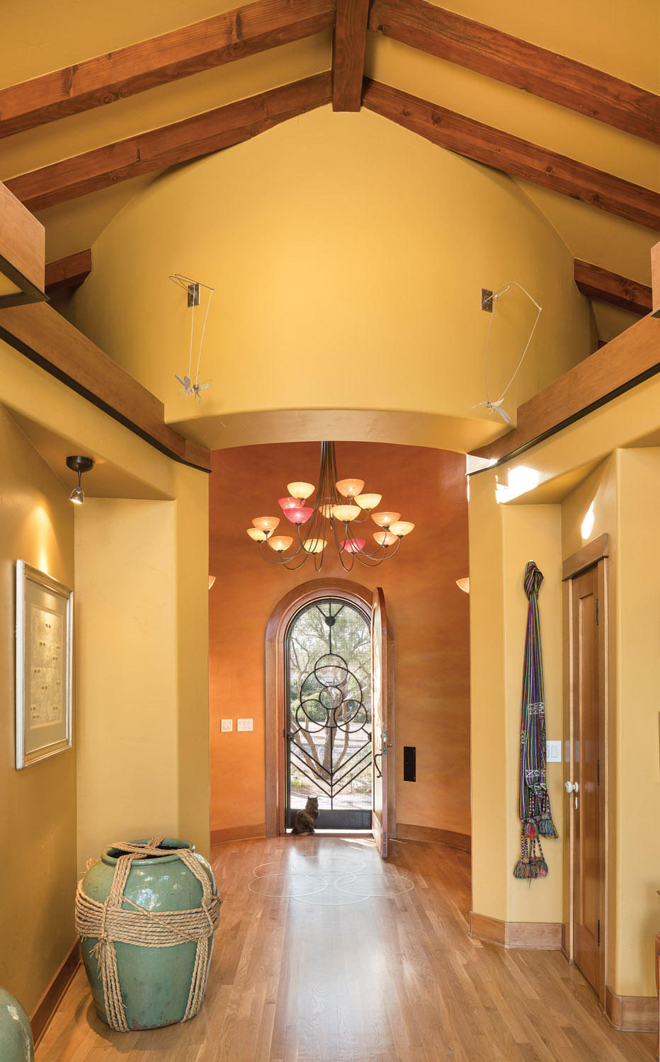 Spanish Colonial entryway