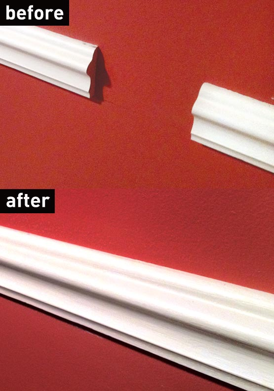 Custom molding repair using epoxy