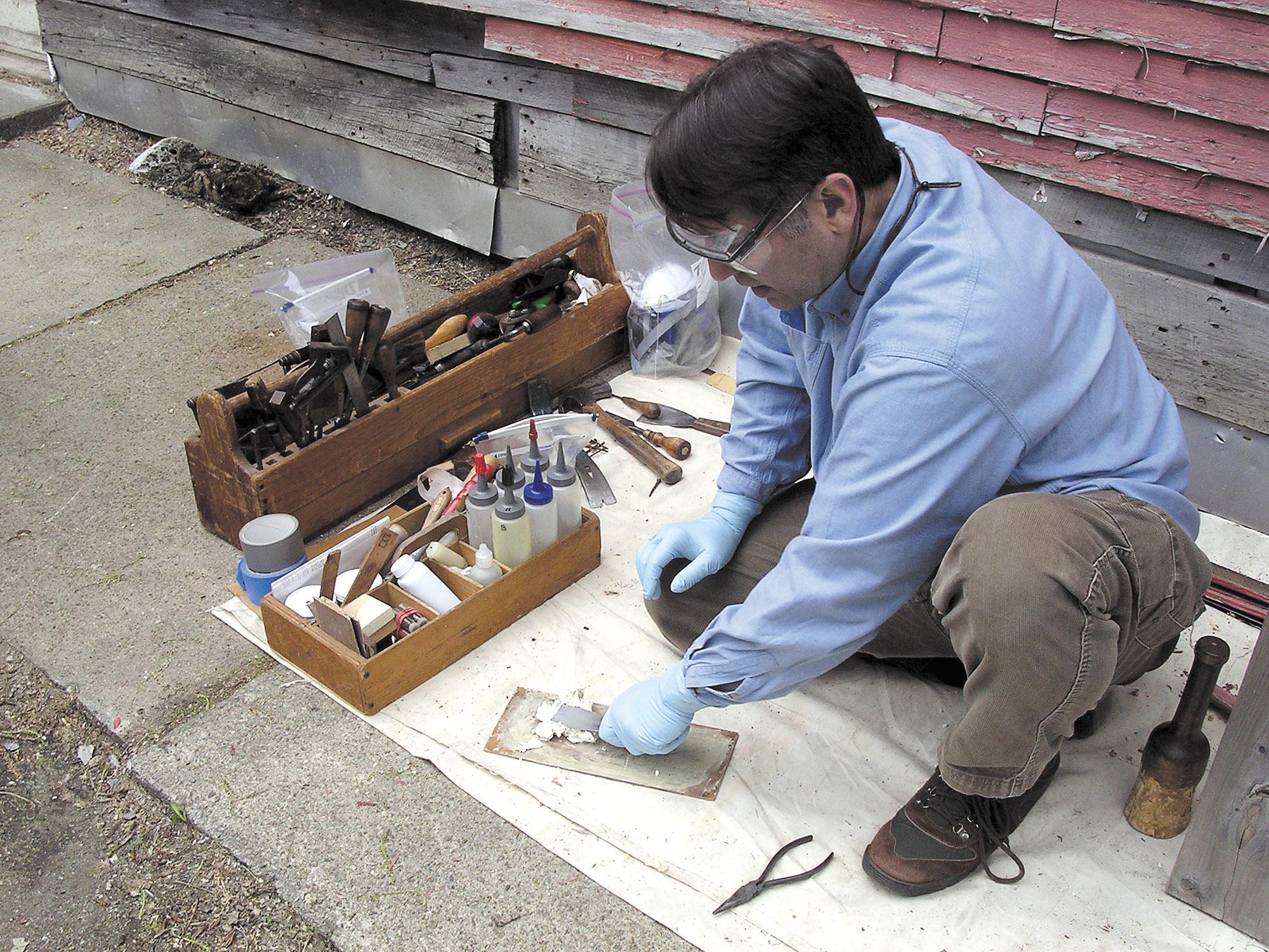 Epoxies for Wood Repair