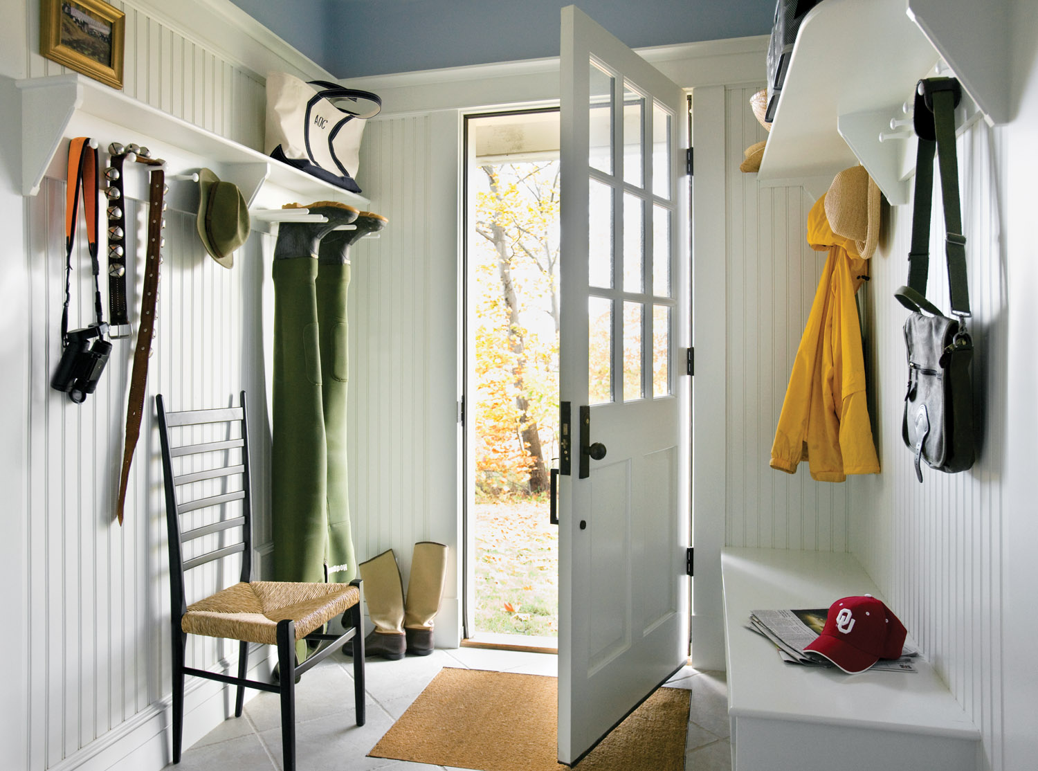 From Closets to Mudrooms: Old House Storage