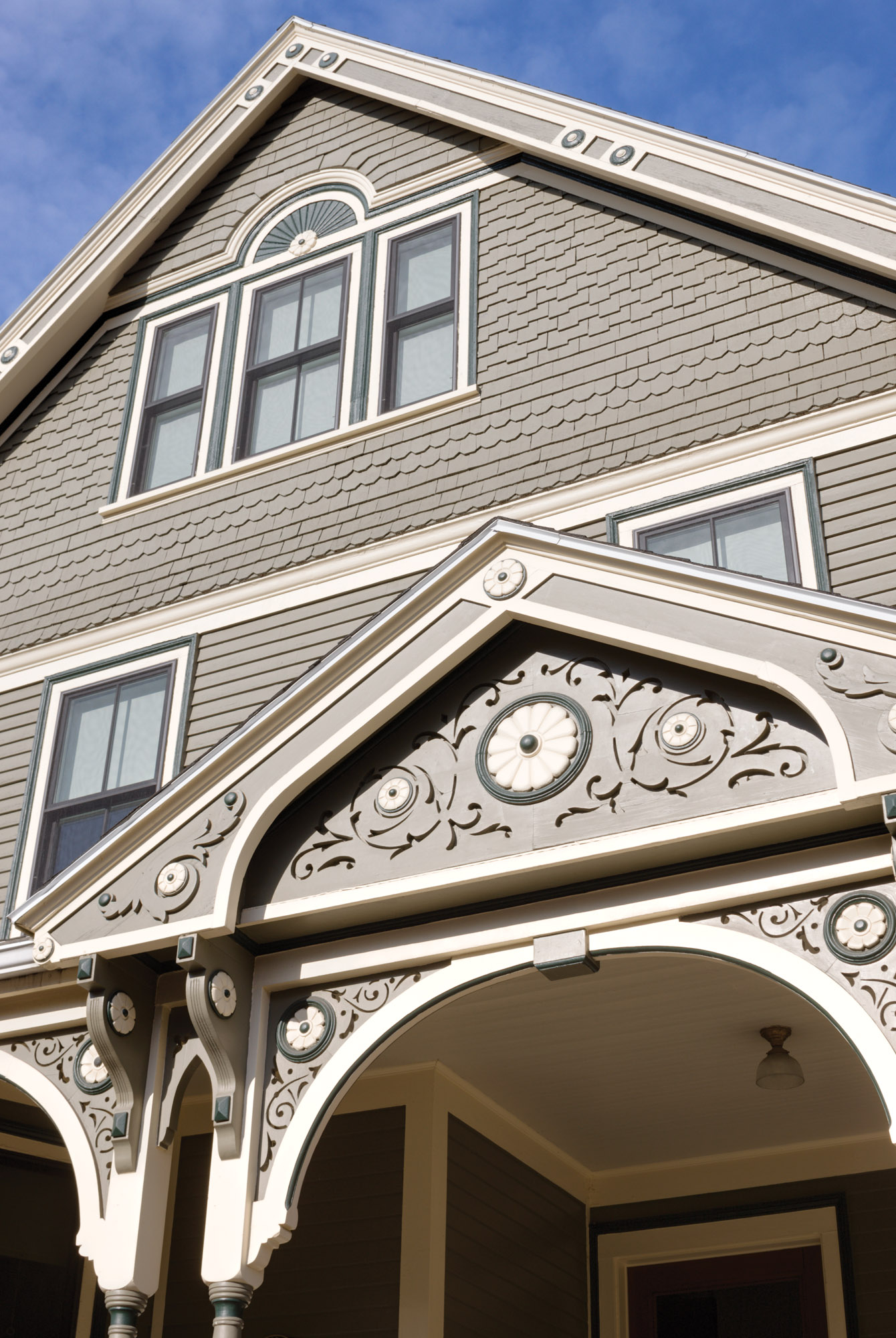 ornamental exterior millwork
