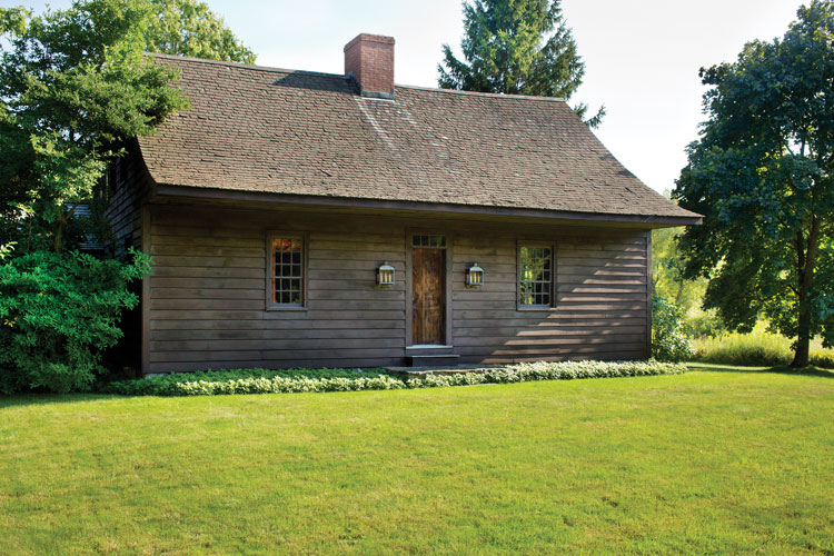 Hudson valley dutch dwelling relocated and restored old for Tiny house for sale hudson valley