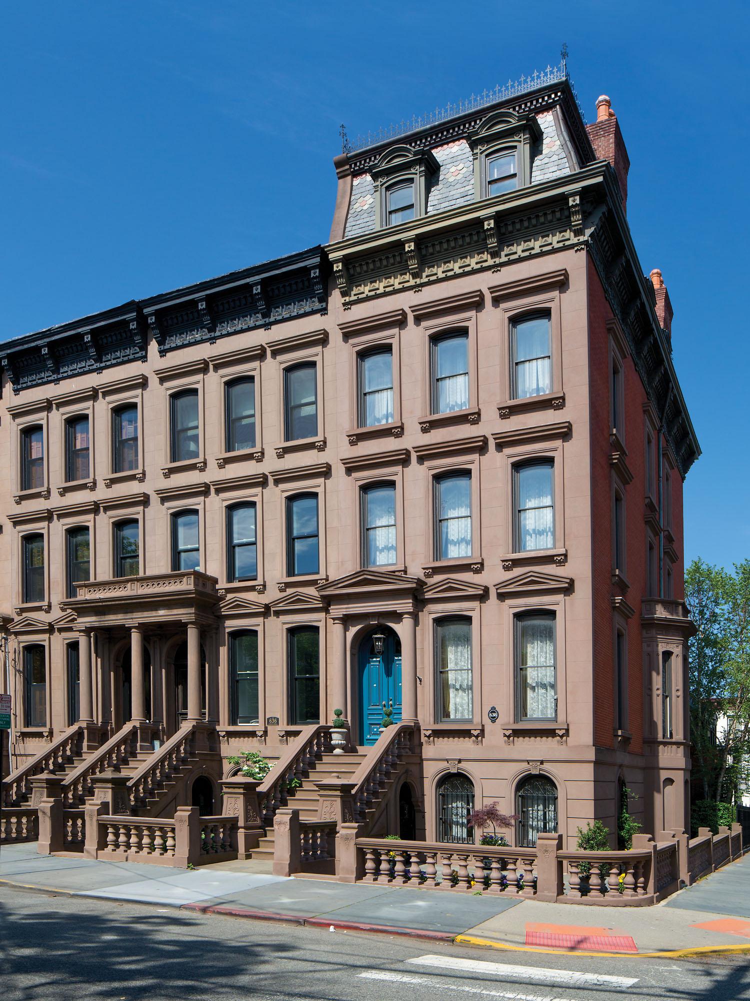 Hoboken, N.J., brownstones