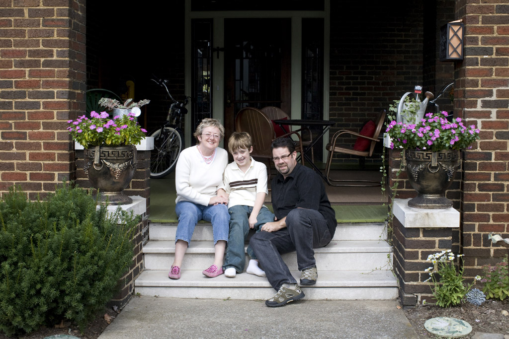 Faith, Jacob, and Doug McDaniel combined heavy-duty restoration with historical research to make their bungalow feel like home.