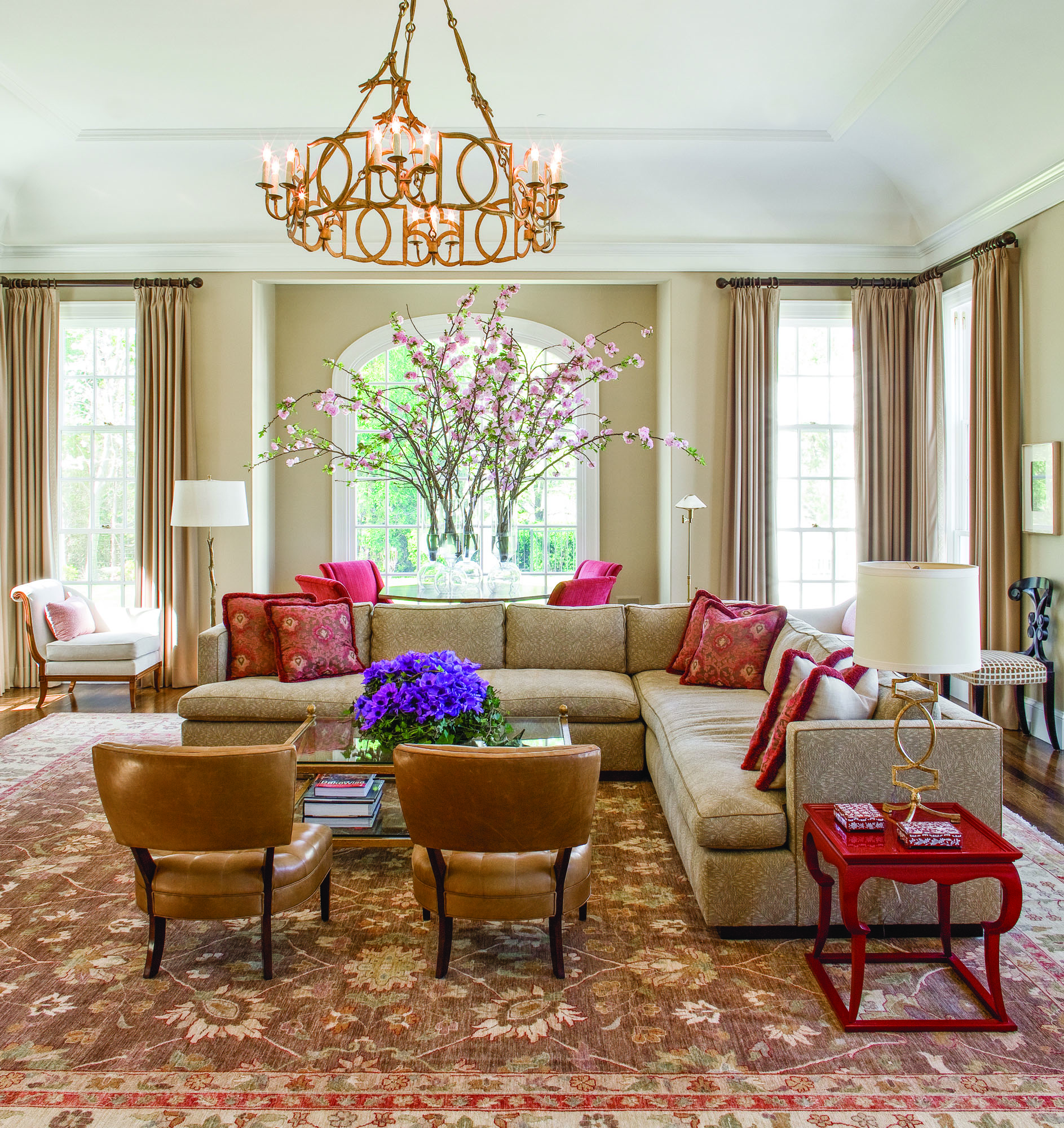 Michael Carter of Carter & Company Interior Design creates classical, yet contemporary, interiors for a New England Colonial.