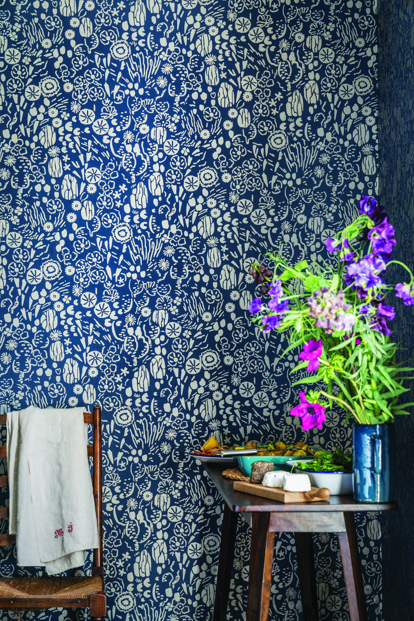 Farrow and Ball's new wallpaper collection.