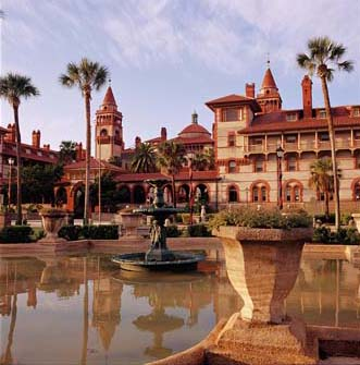 Hotel Ponce de Leon (now part of Flagler College), designed by Thomas Hastings in 1887, historic places