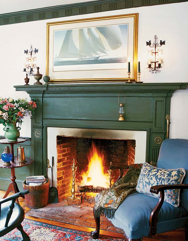 Soot buildup often can be loosened with soap and some elbow grease.